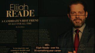 An article on Elijah Reade (David Furr)