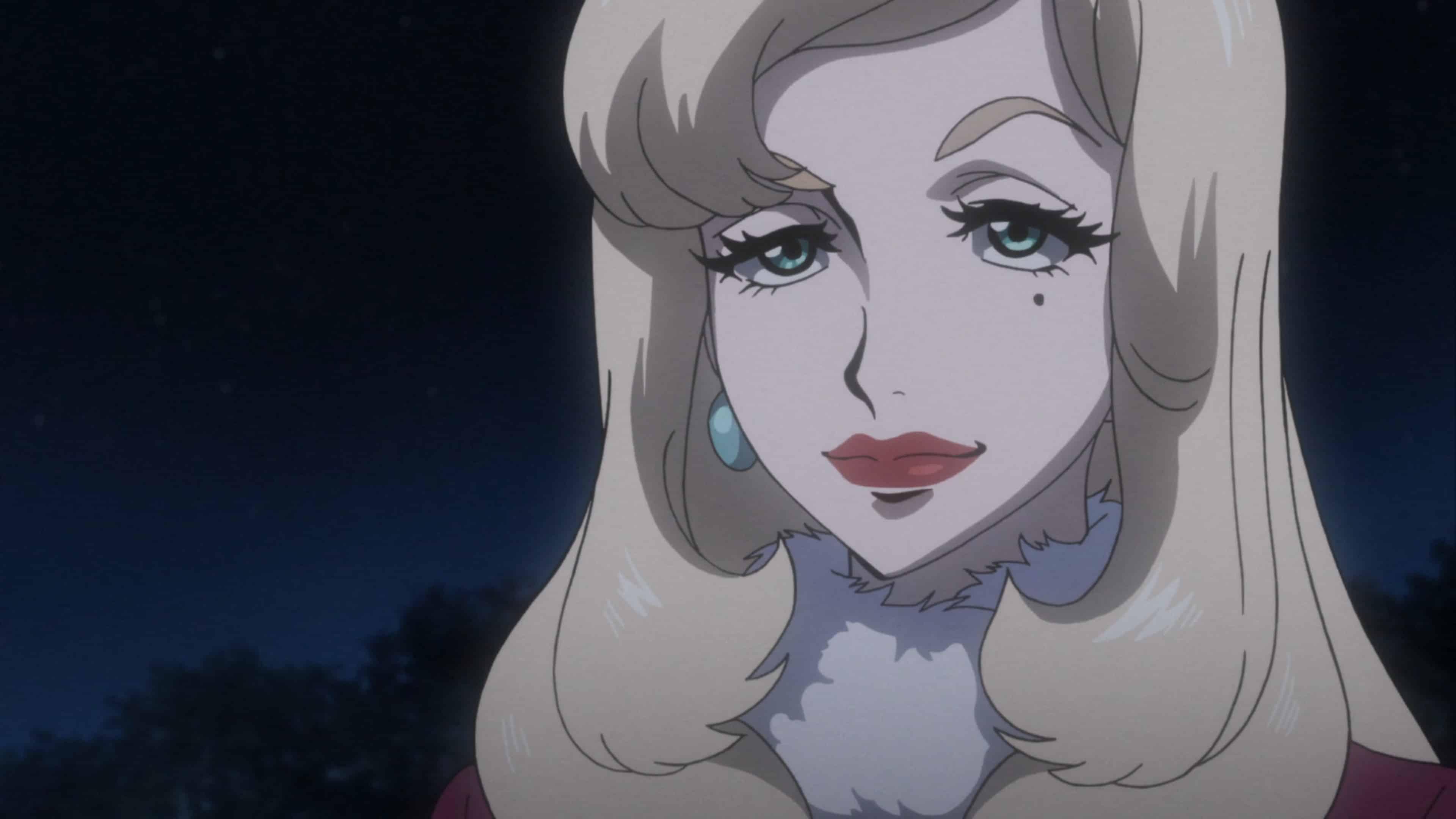 Hana smirking at Yuki