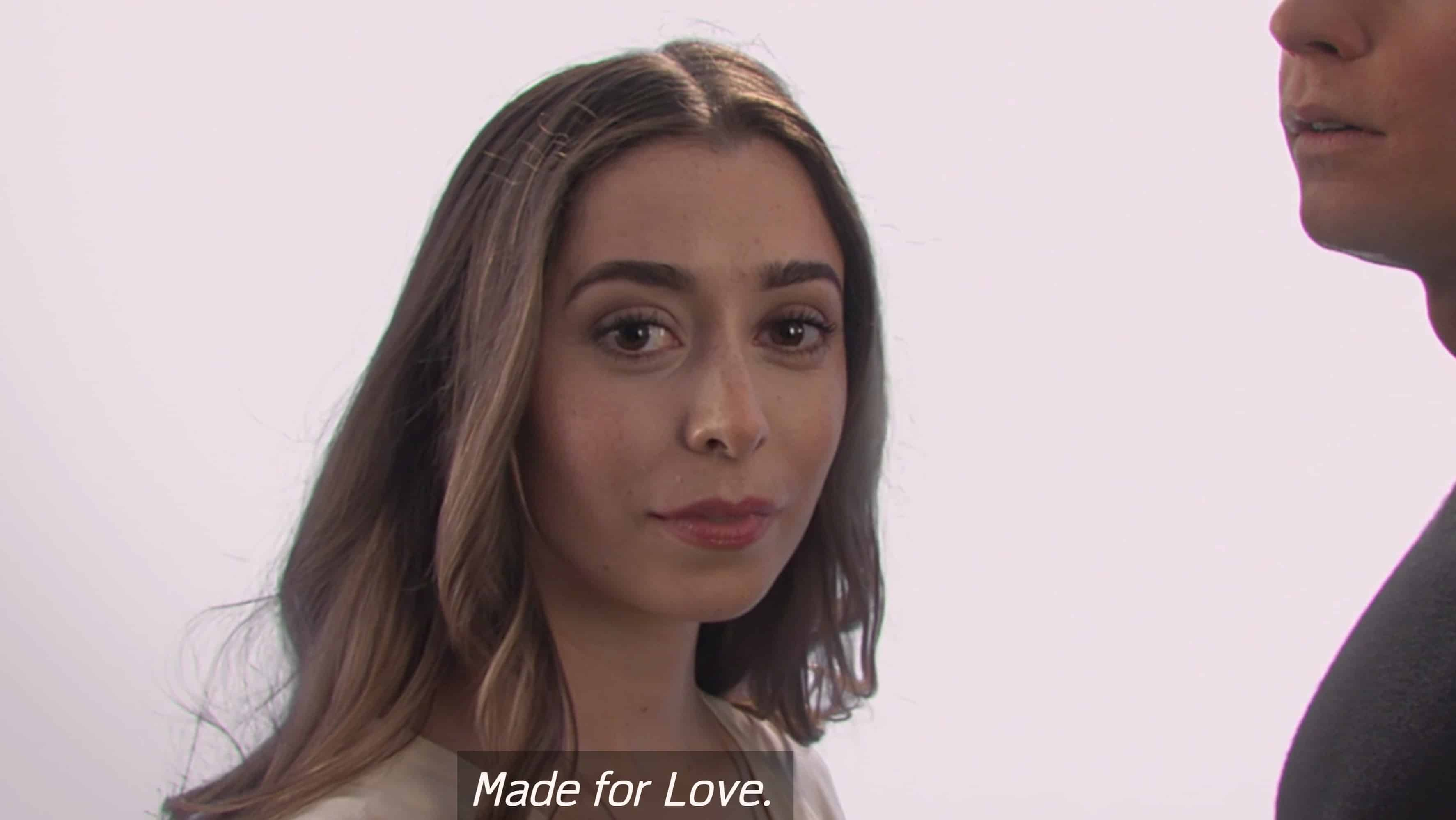 Hazel Green (Cristin Milioti) in a advertisement for Gogol's latest product