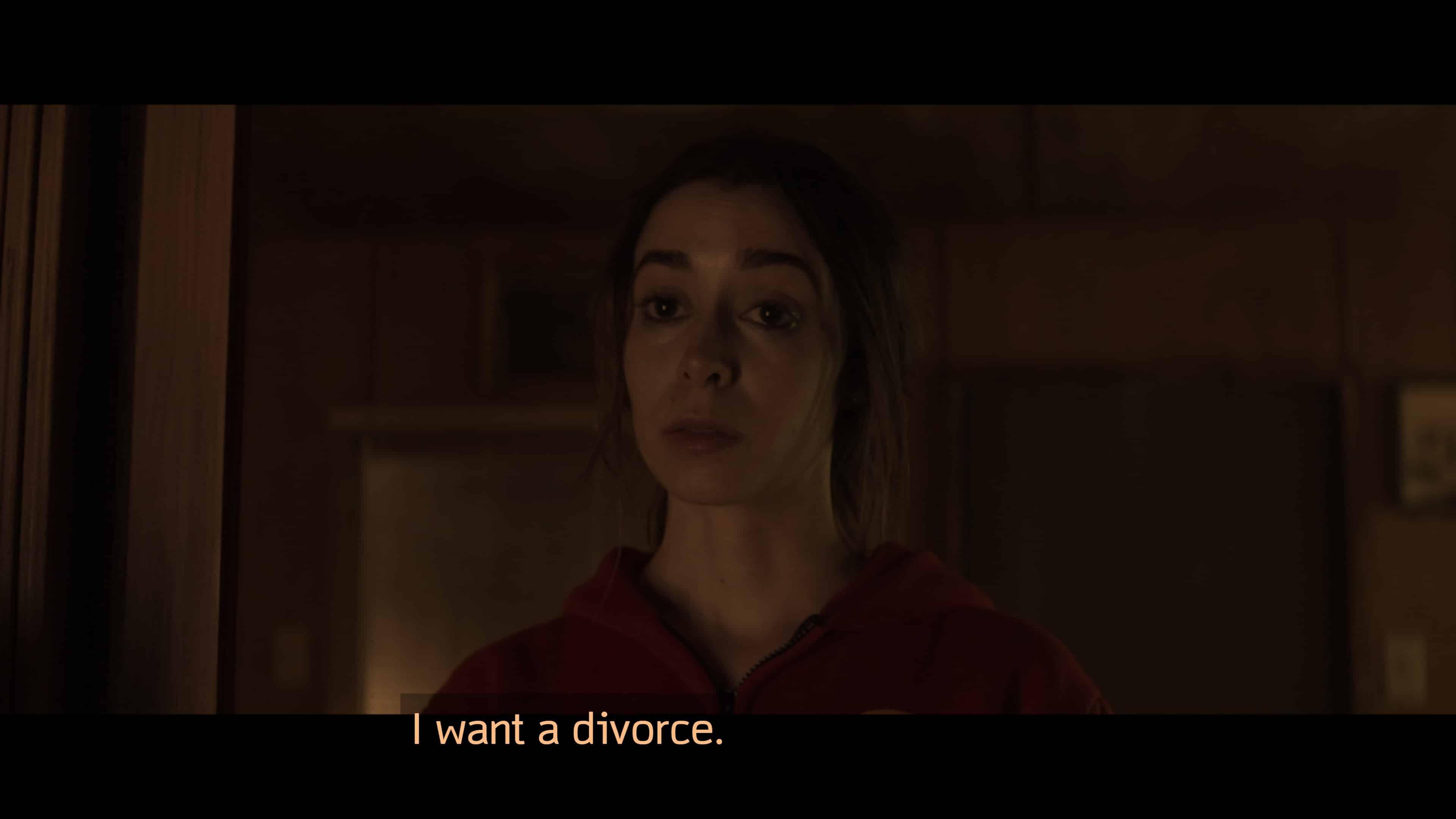 Hazel asking for a divorce