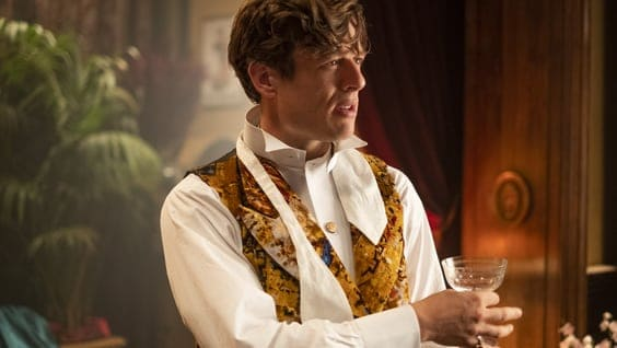 Hugo Swann (James Norton) in HBO's The Nevers