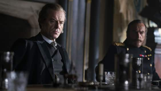 Lord Gilbert Massen (Pip Torrens) in HBO's The Nevers