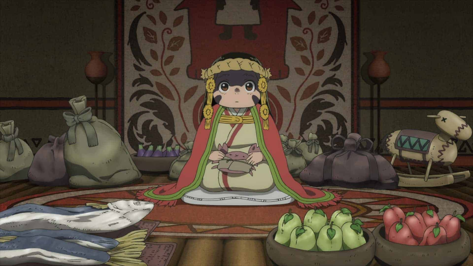 March (Rie Hikisaka) at an altar made for her