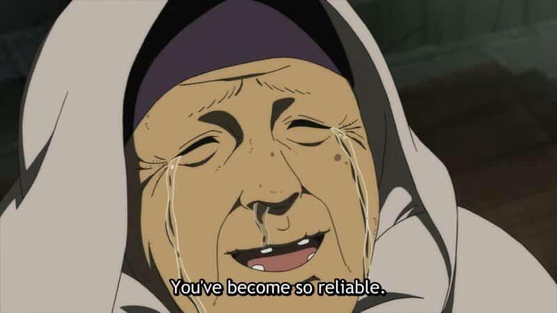 Pioran (Rikako Aikawa) thanking Fushi
