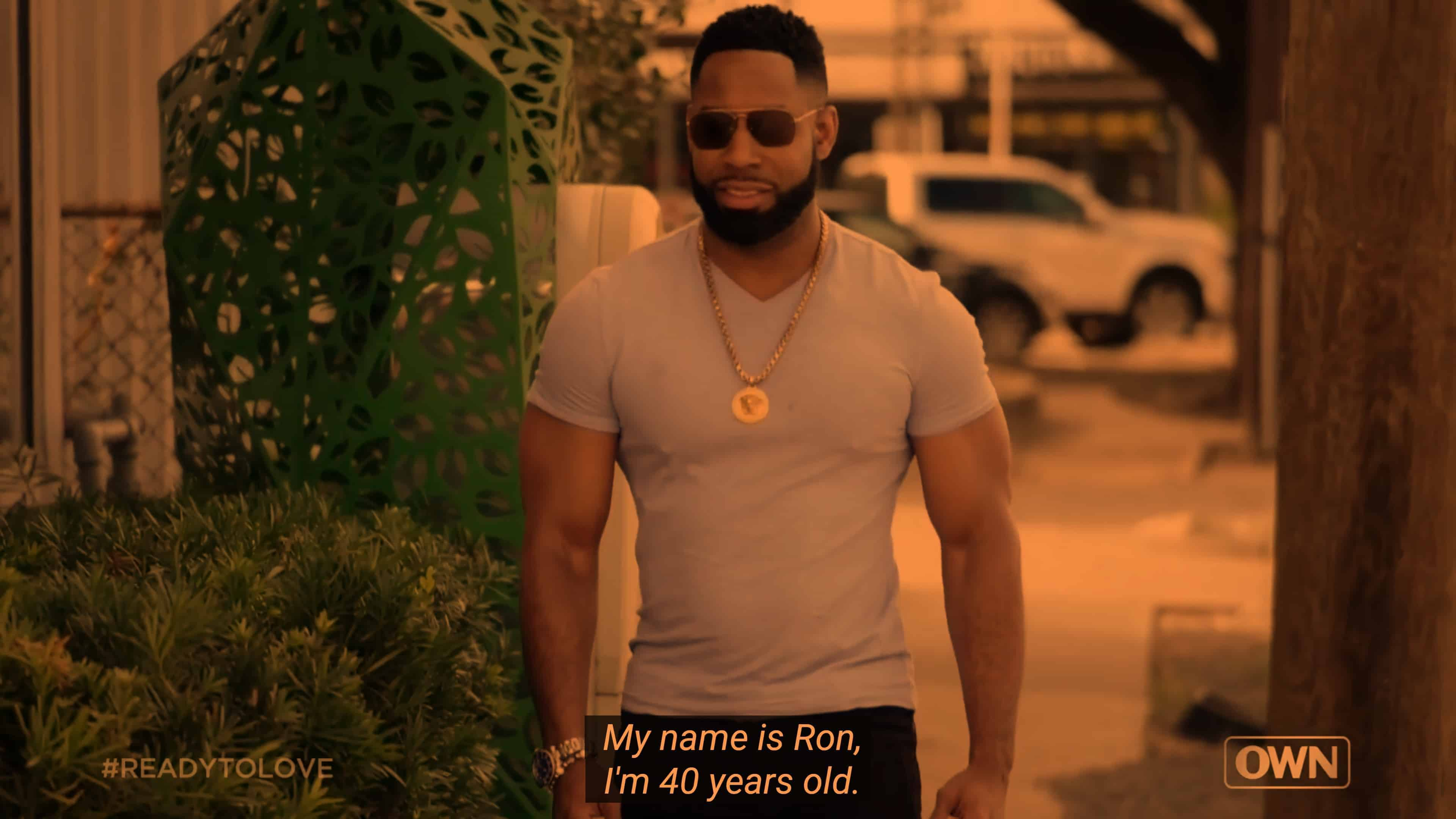 Ron introducing himself