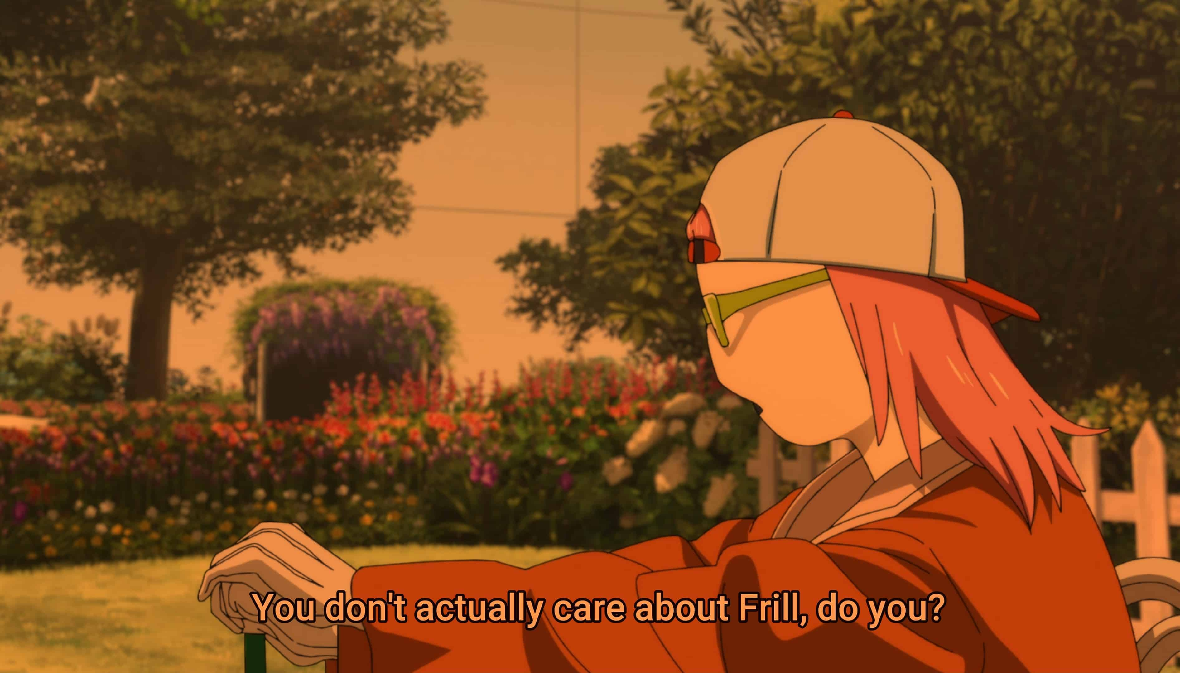 Ura-Acca asking Acca if he cares about Frill