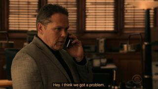 Zev Petrus (Kevin Chapman) realizing silencing Maya won't be as easy as the others