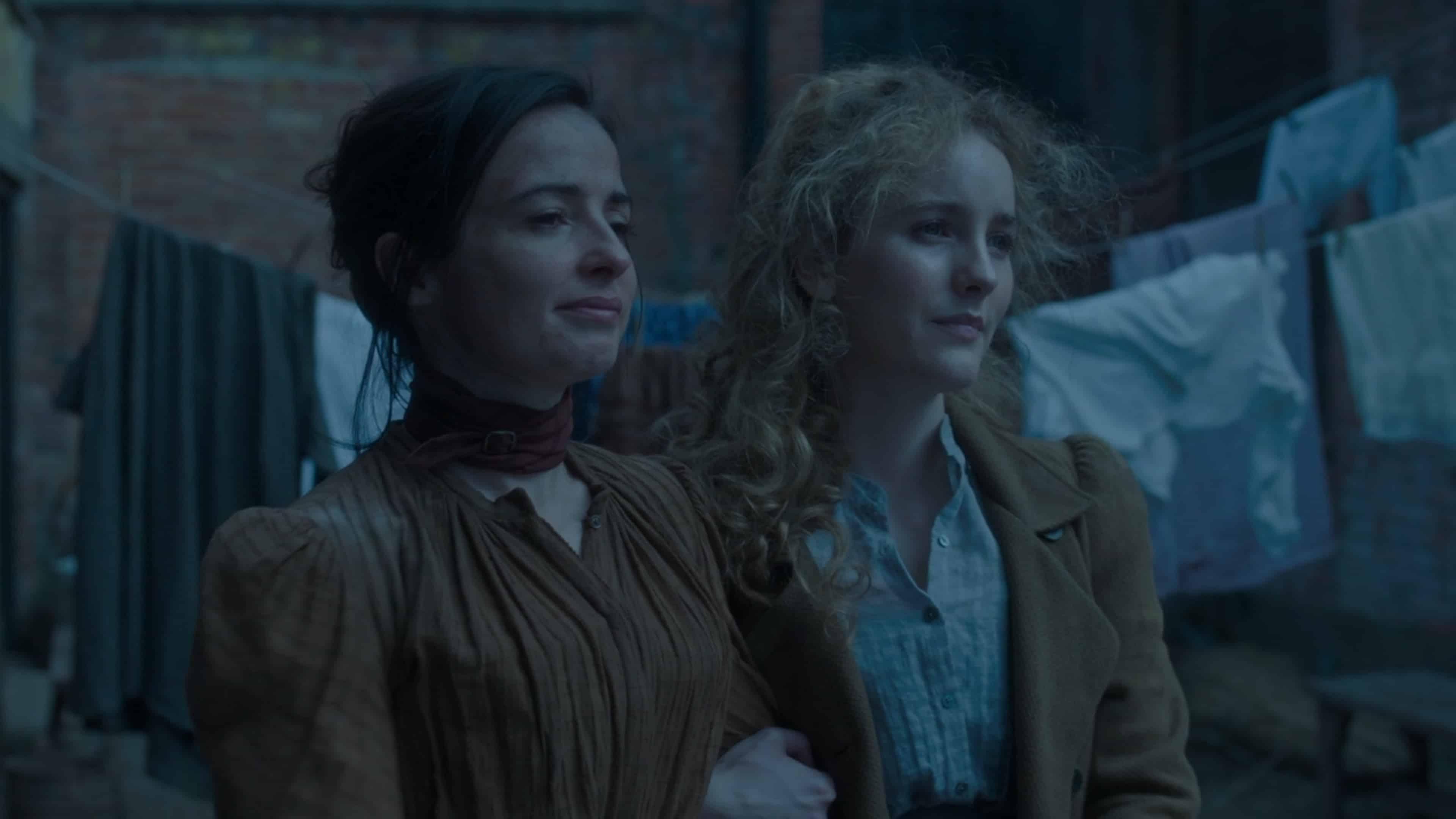 Amalia and Penance arm and arm