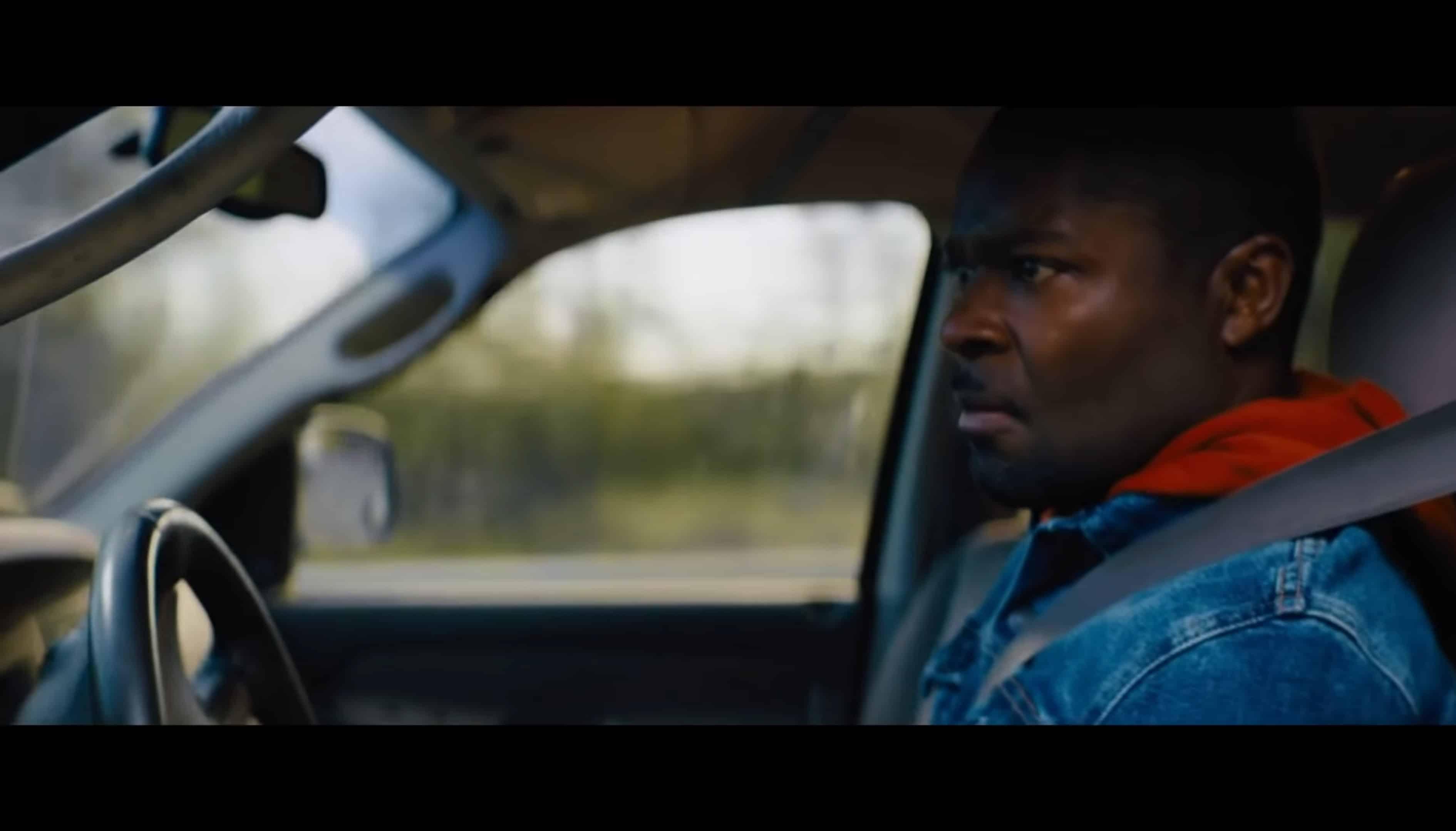 Amos (David Oyelowo) looking for Gunner