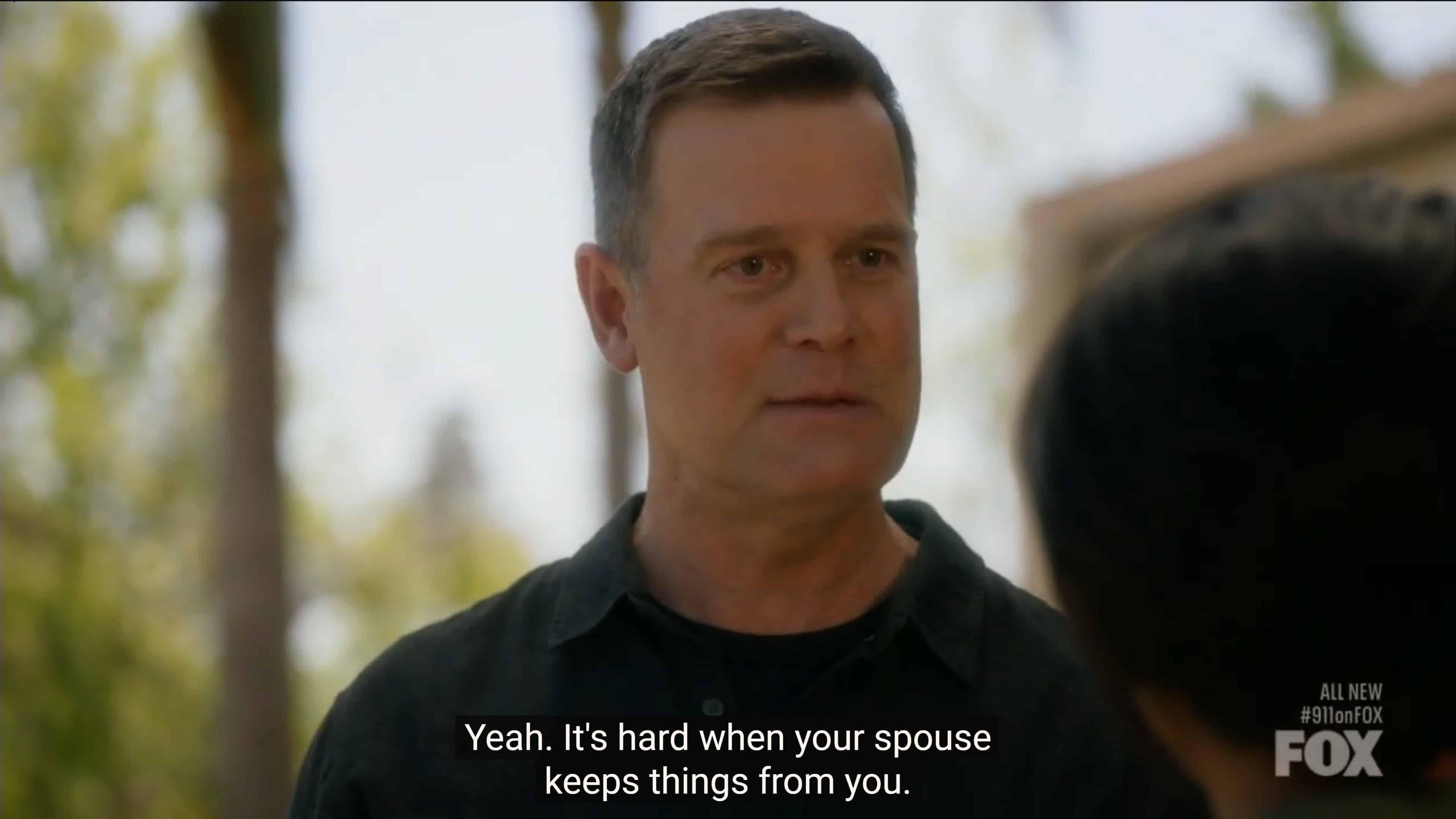 Bobby upset with Athena