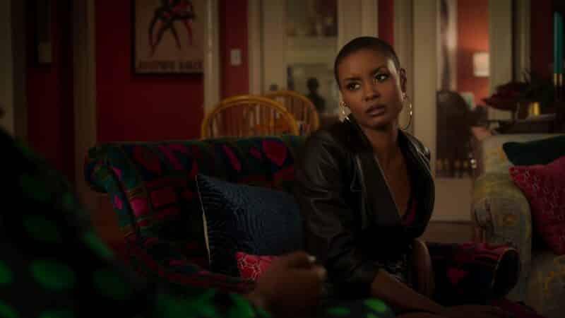Ella (Andrea Bordeaux) looking exasperated