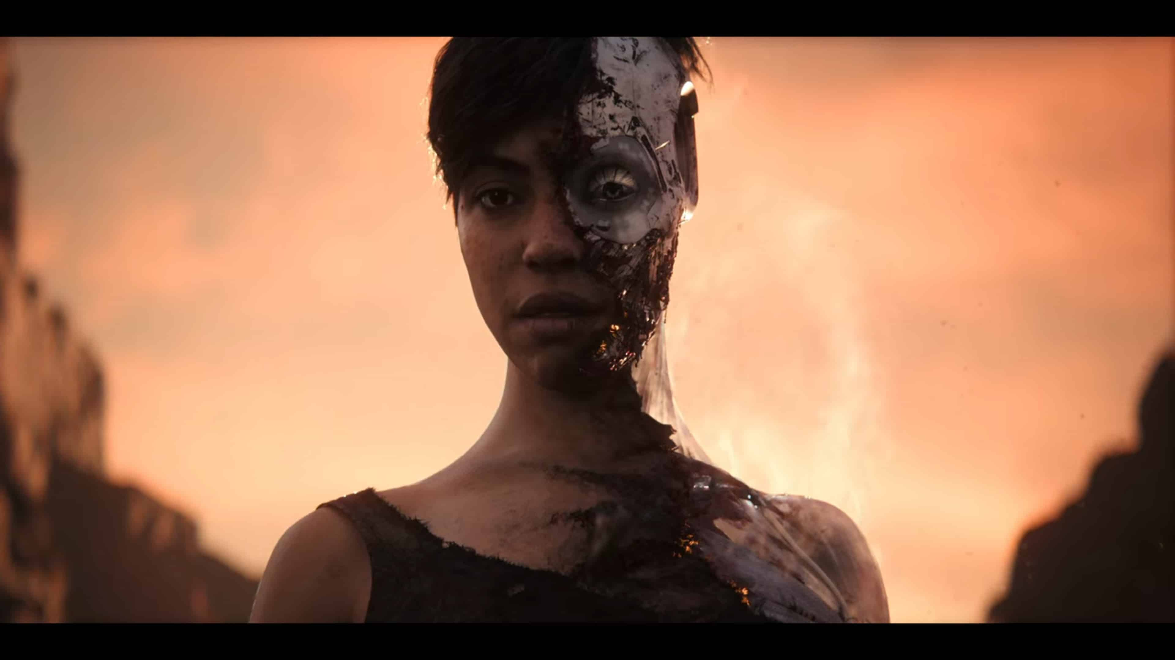 Hirald (Zita Hanrot), after the merchant shot her in th head