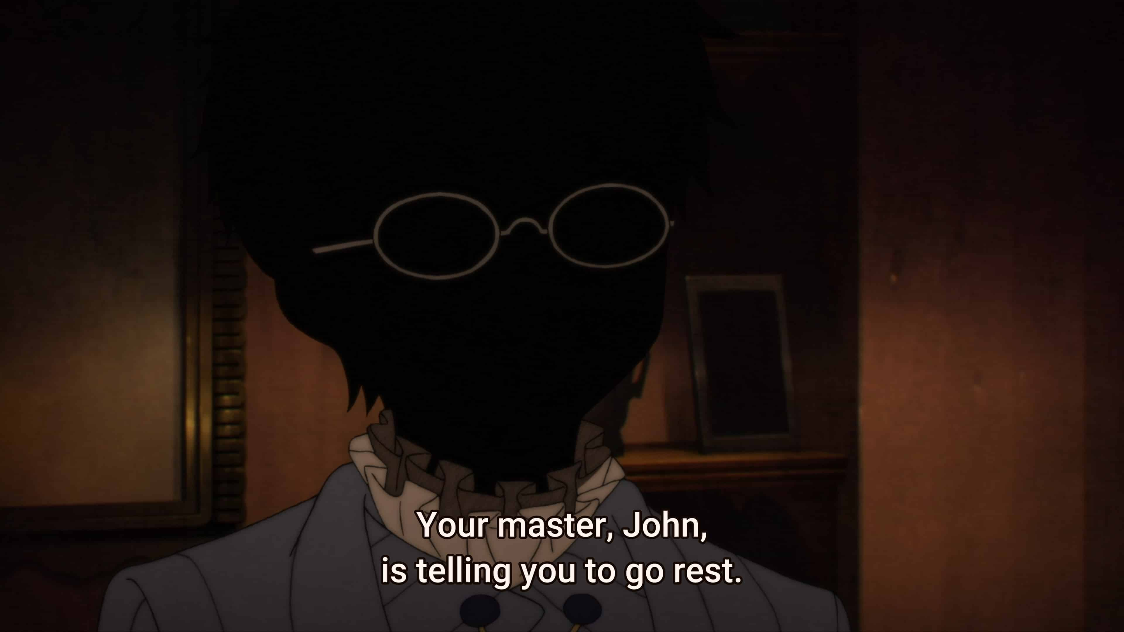 John (Kodai Saki) ordering Shaun to go to bed