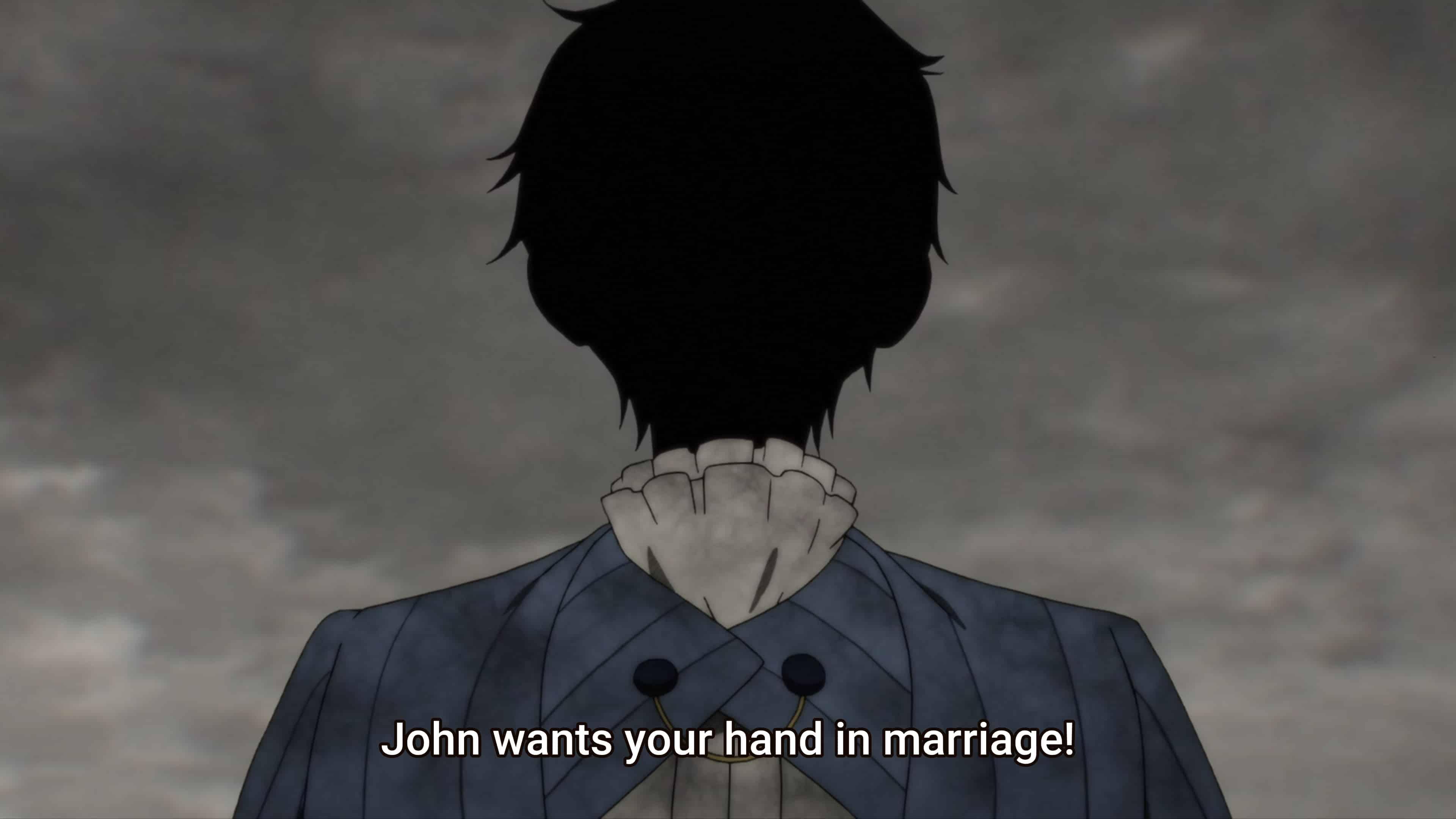 John proposing to Kate