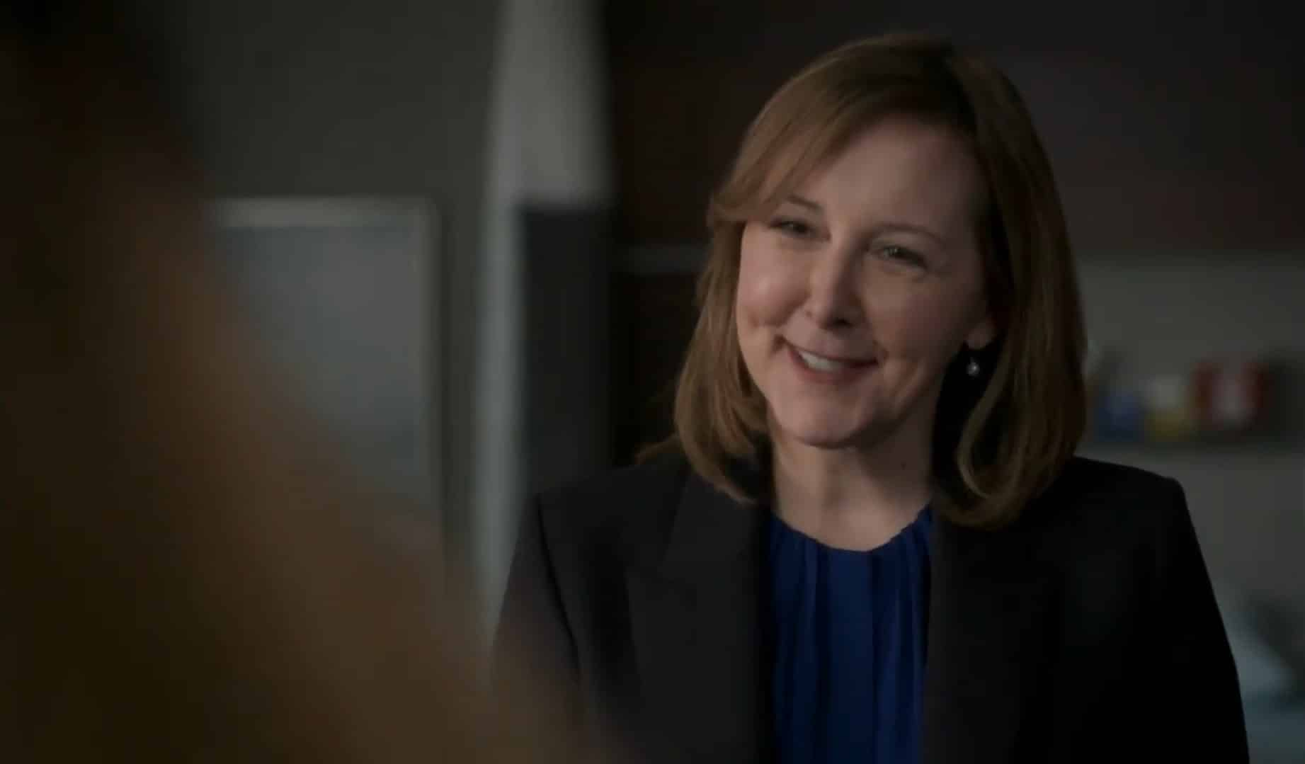 Marian (Cynthis Stevenson) smiling at Claire