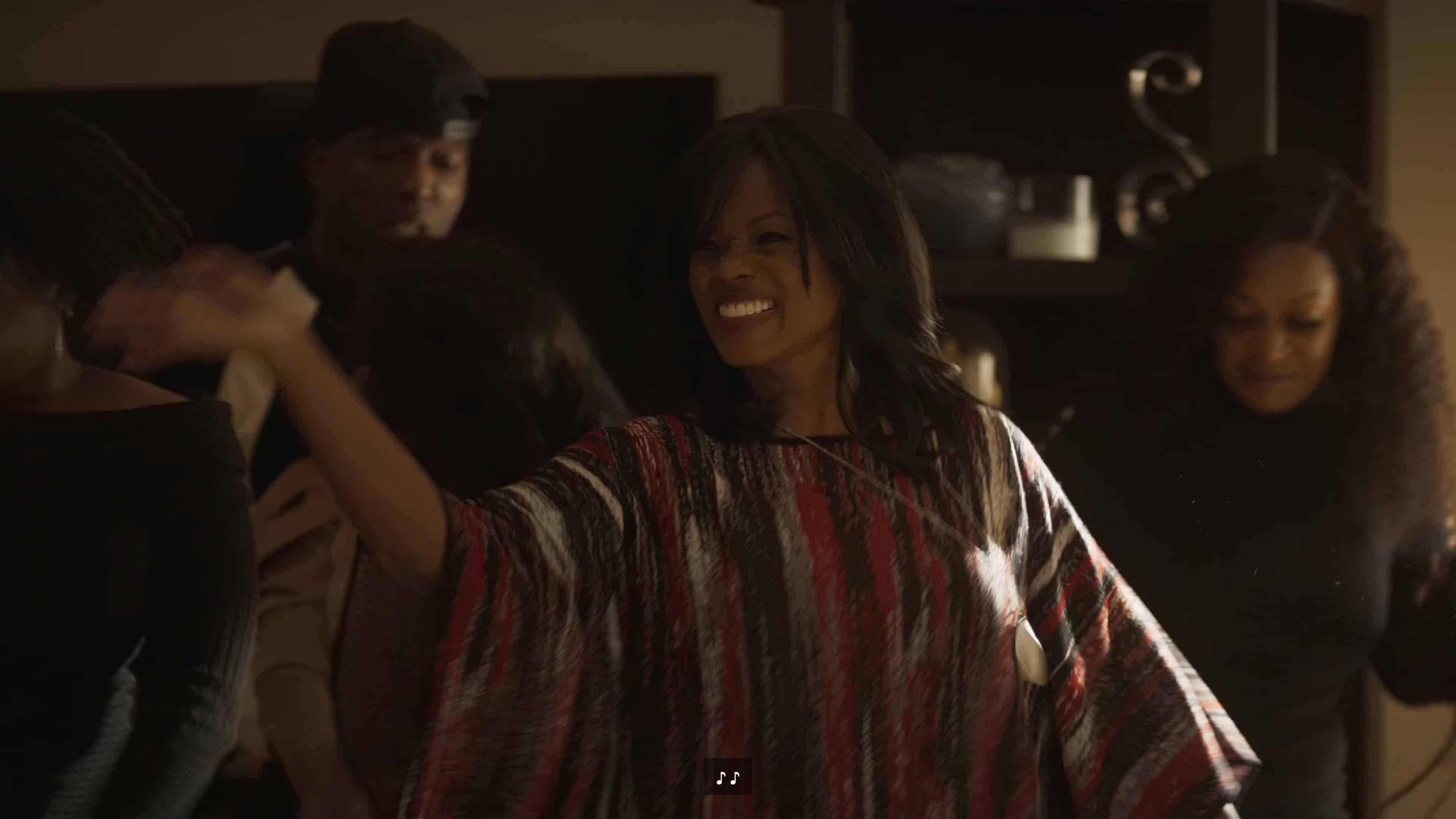 Sheila (Patricia McRae) dancing