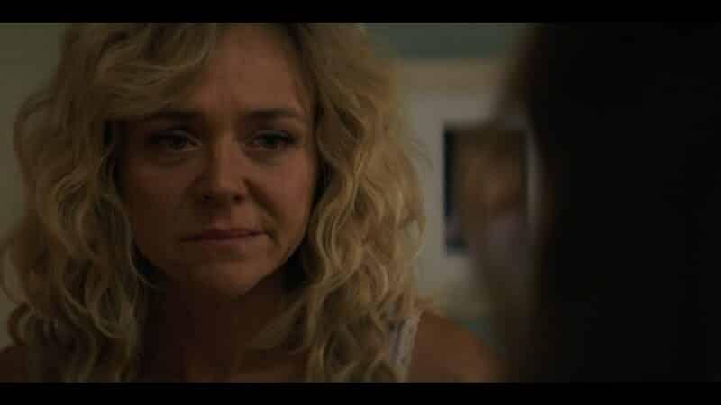 Sherri (Rachel Bay Jones) staring down Heather