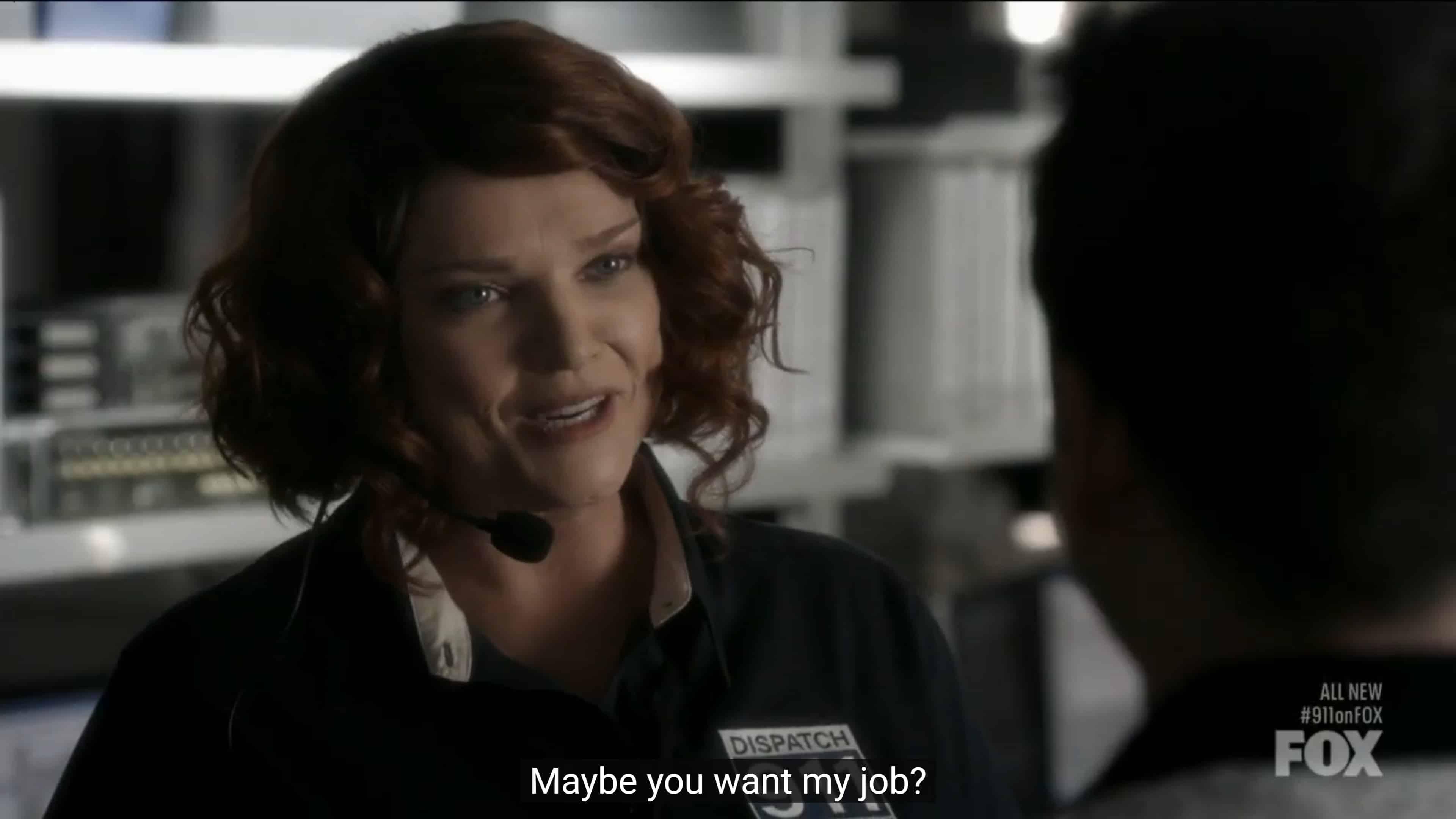 Sue offering Josh a job
