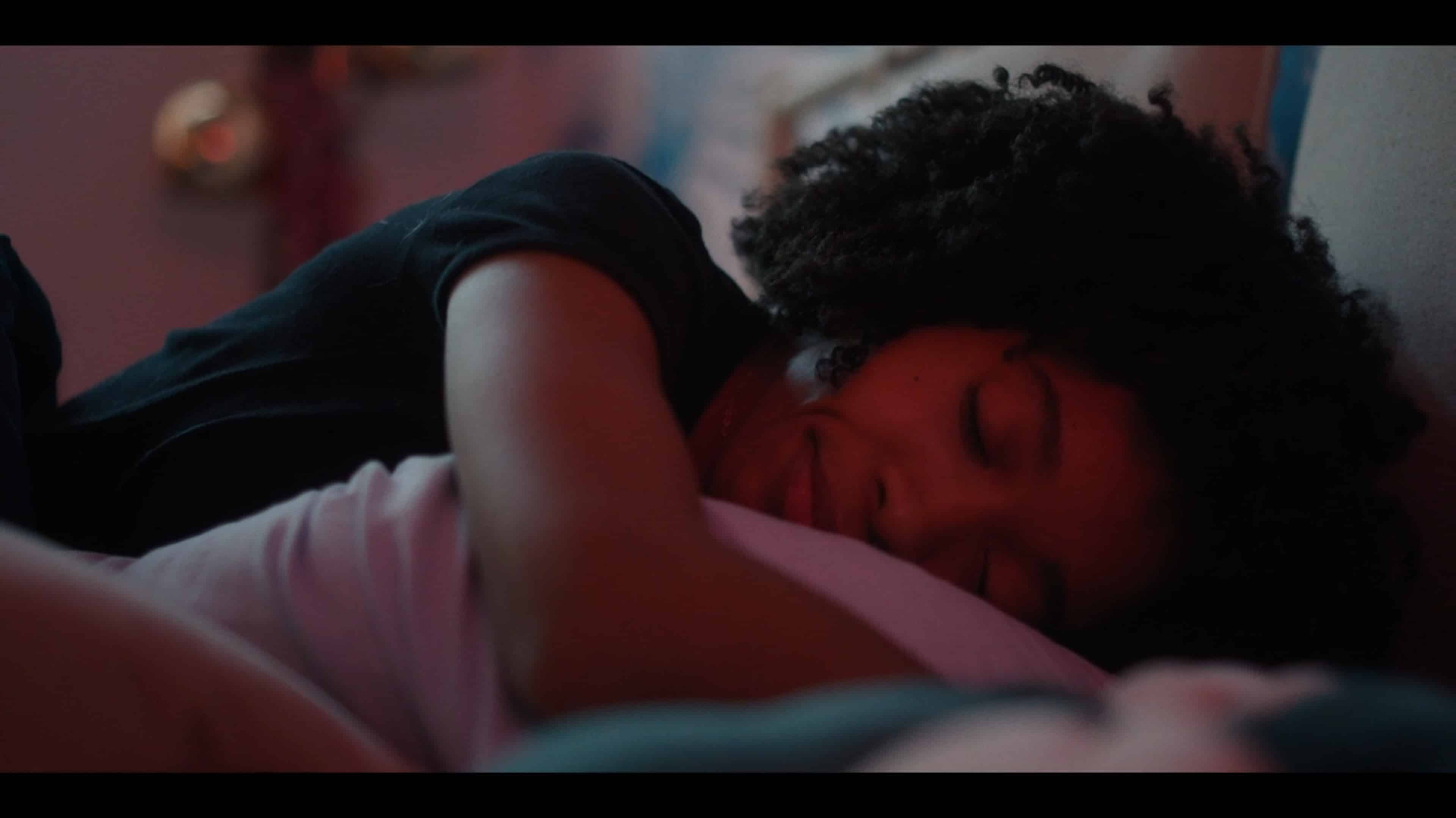 Arianna sleeping