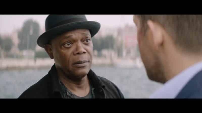 Darius (Samuel L. Jackson) before smacking Michael