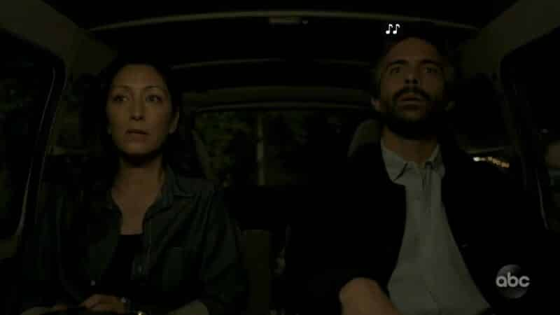 Dr. Lim and Dr. Osma (Osvaldo Benavides) being kidnapped