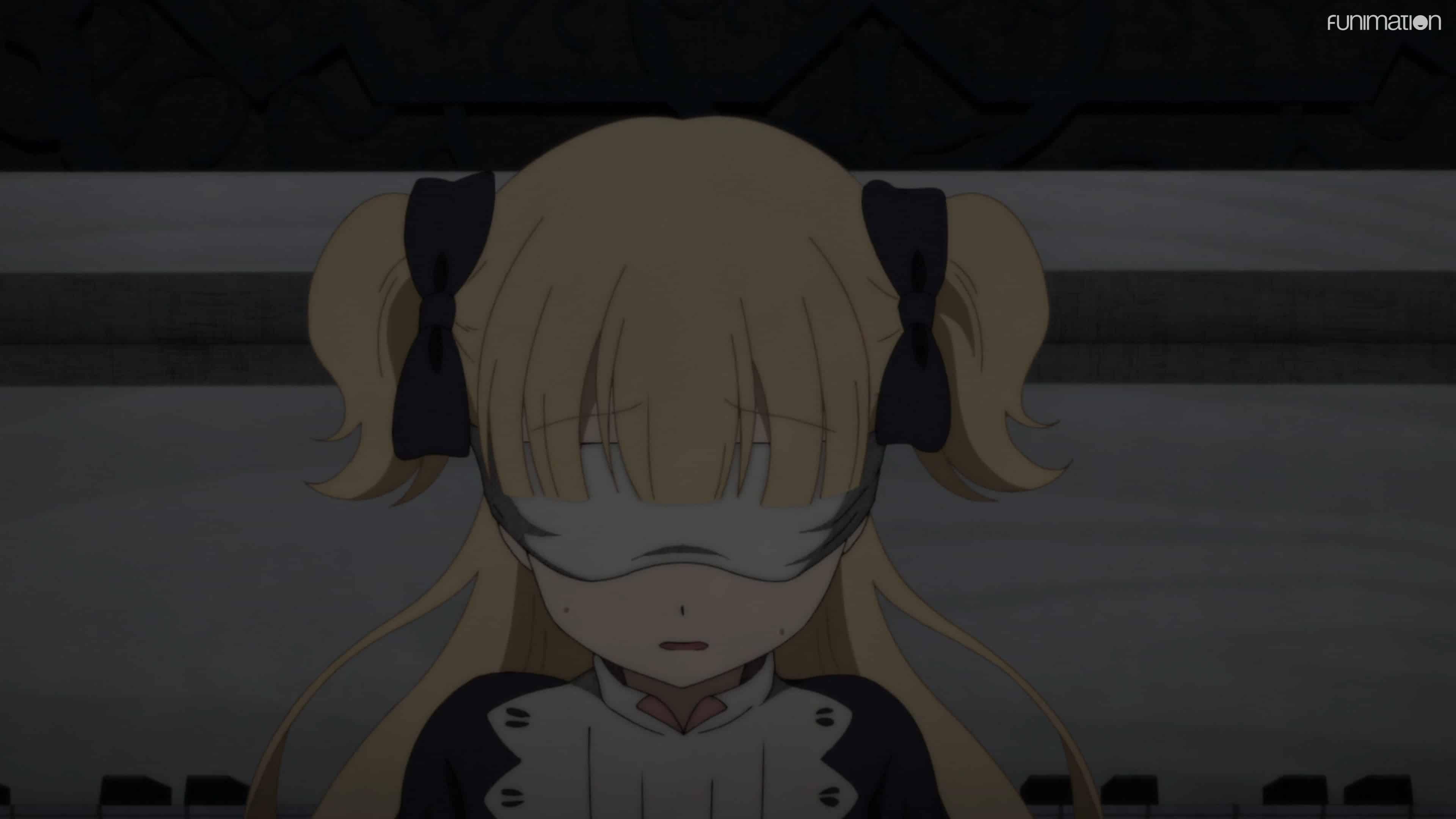 Emilico blindfolded