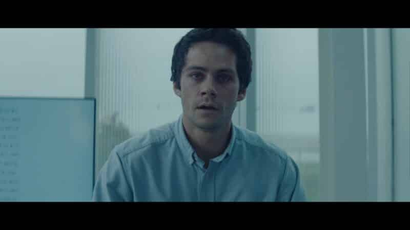 Fred (Dylan O'Brien) before he loses his mind