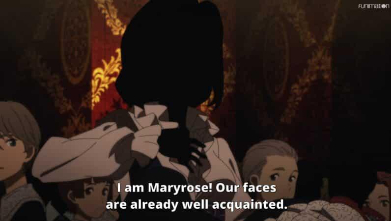 Maryrose (Mai Nakahara) introducing herself to Kate