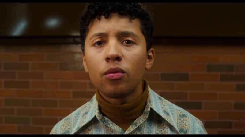 Milo (Jaboukie Young-White) noticing the signs which point him to talking to Wendy