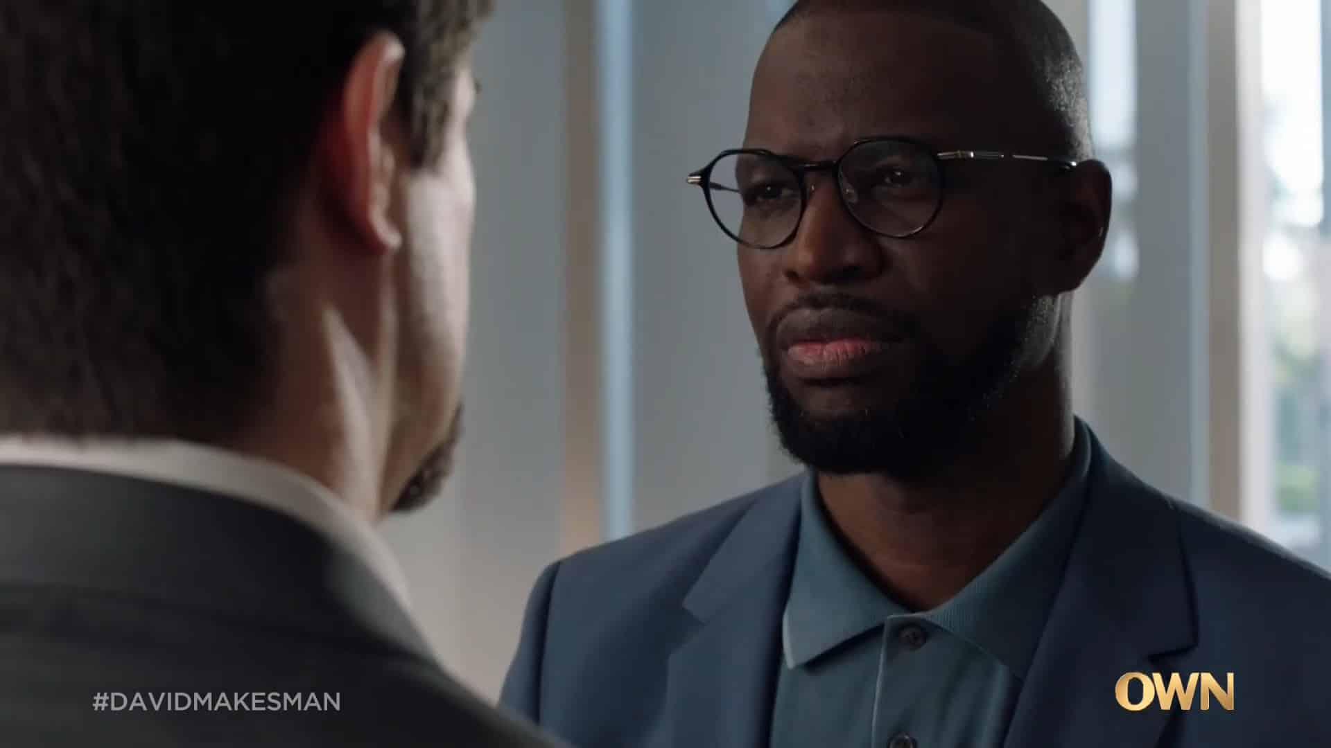 Older David (Kwame Patterson) upset with Jessie