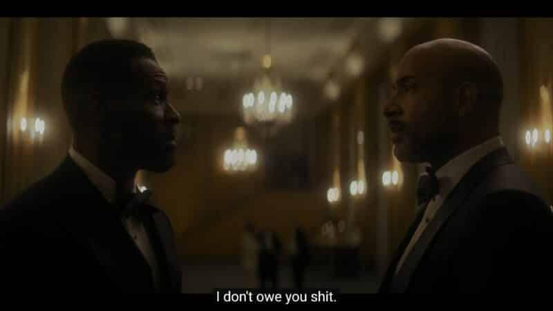 Otis reminding Marcus he don't owe him anything