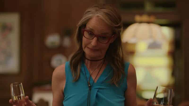 Rainey (Helen Hunt) reacting to the situation at hand