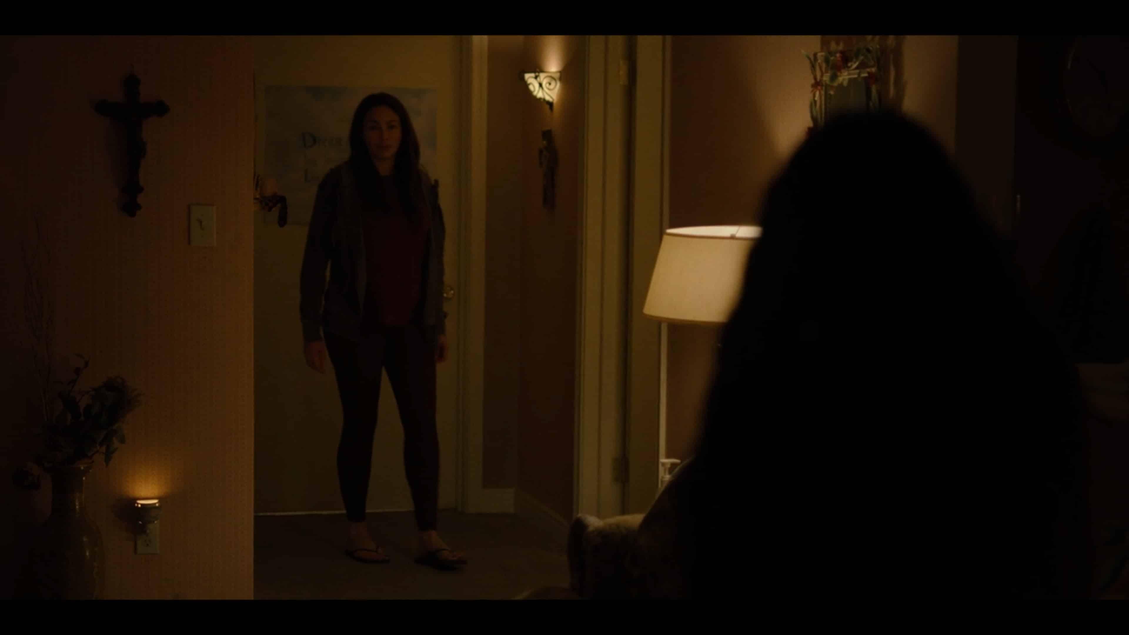 Sela in Ana's apartment