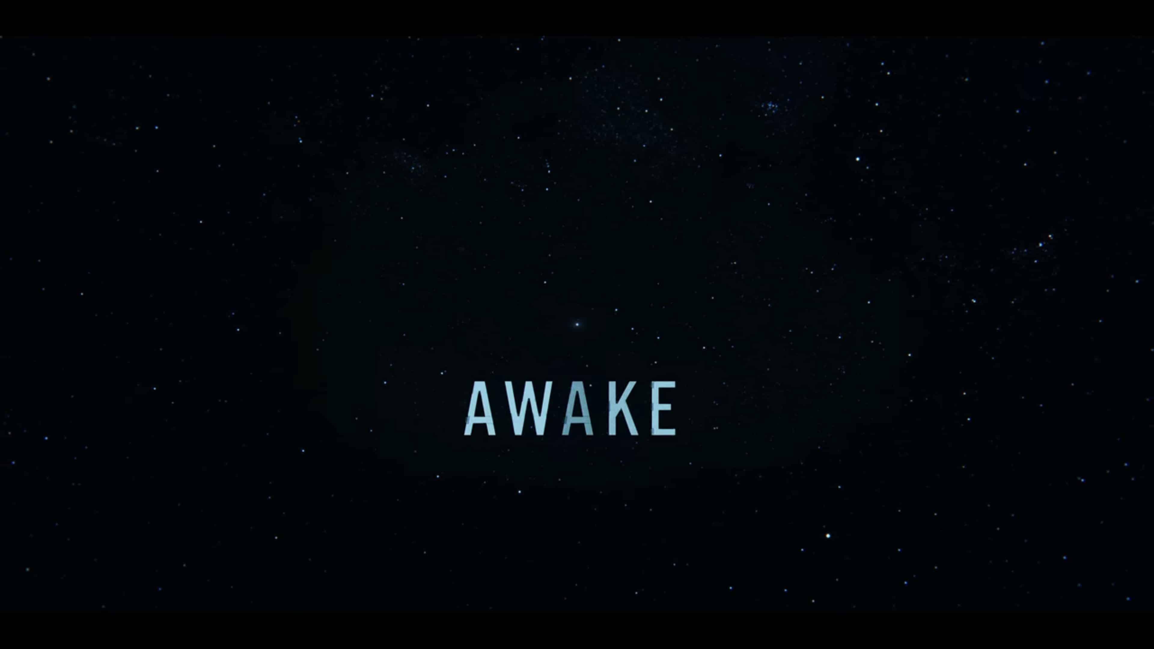 Title Card - Awake (2021)