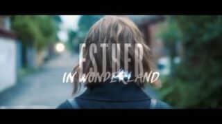 Title Card - Esther In Wonderland (2021)