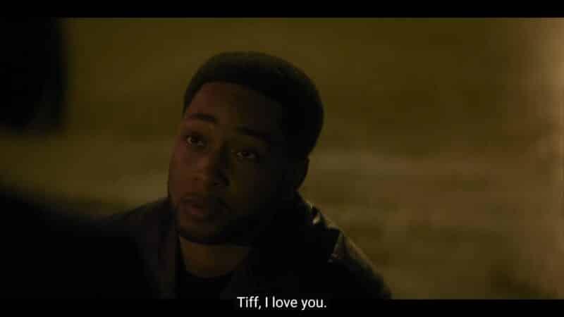 Emmett professing his love