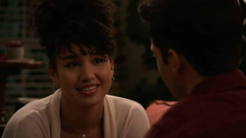 Gina talking to EJ