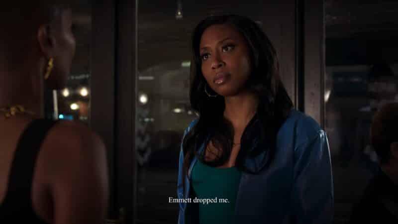 Iman (Yasha Jackson) after Ella's betrayal