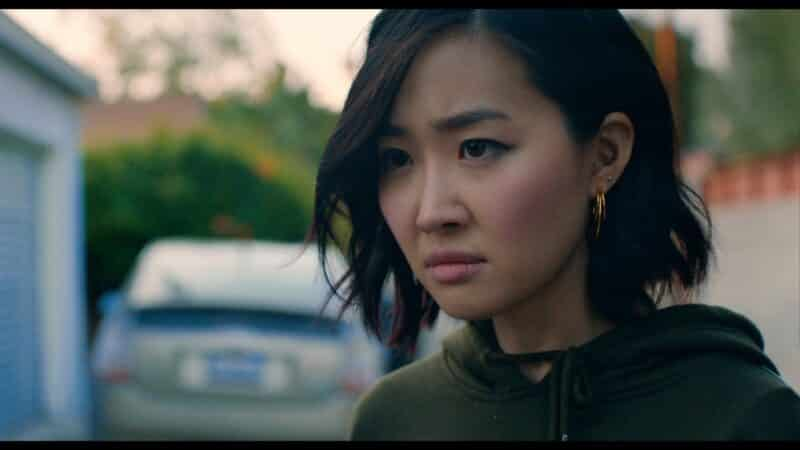 Kristen (Ruby Park) not looking happy