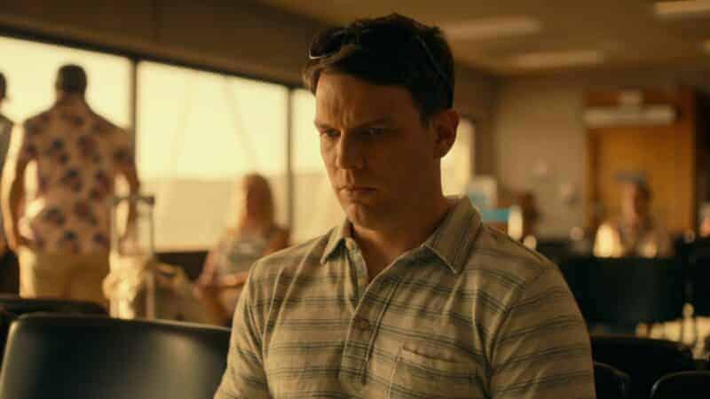 Shane (Jake Lacy) upset someone ruined his honeymoon