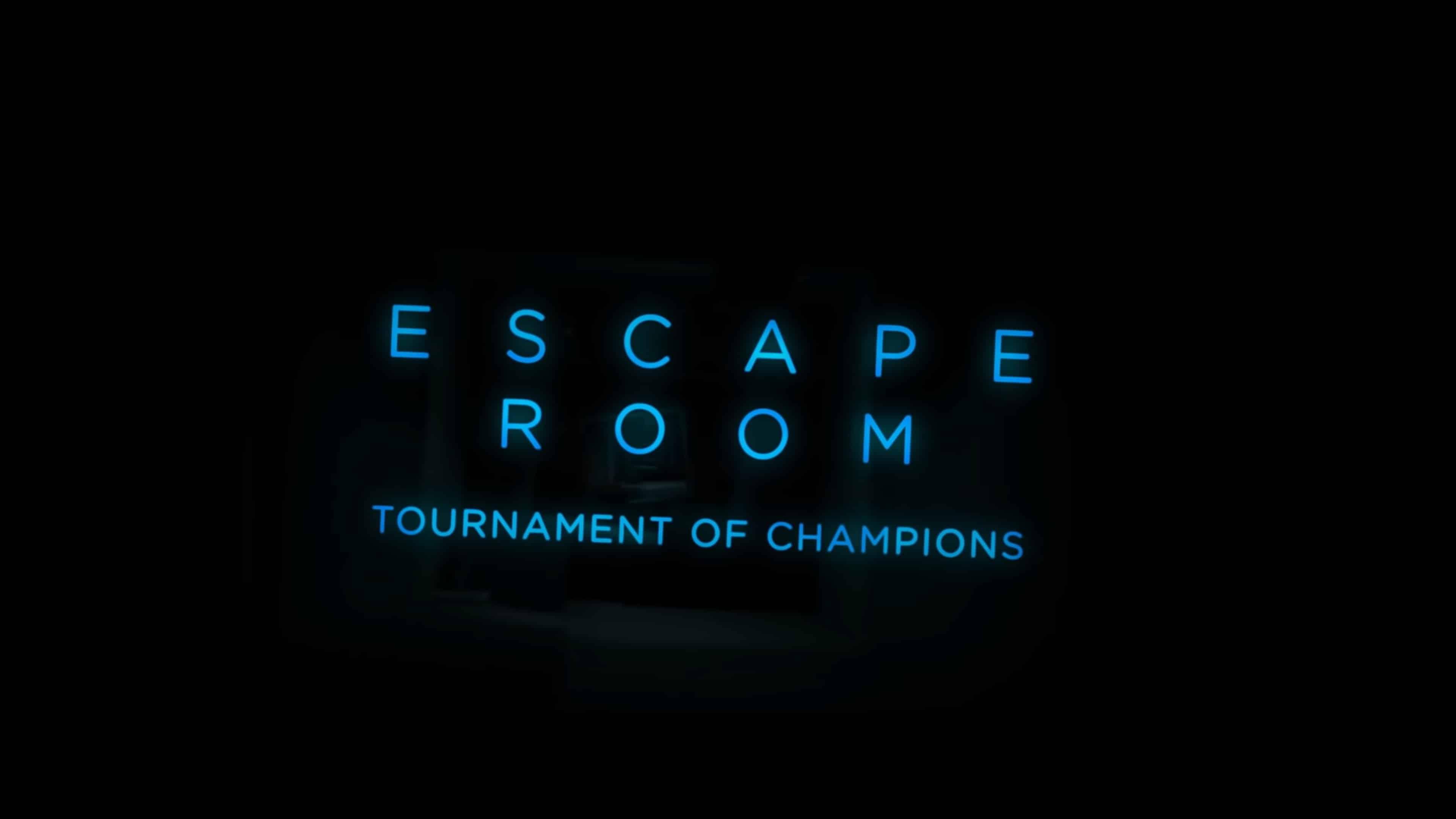 Title Card - Escape Room Tournament of Champions (2021)