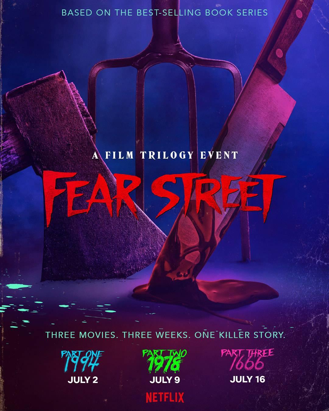 Title Card - Fear Street Trilogy
