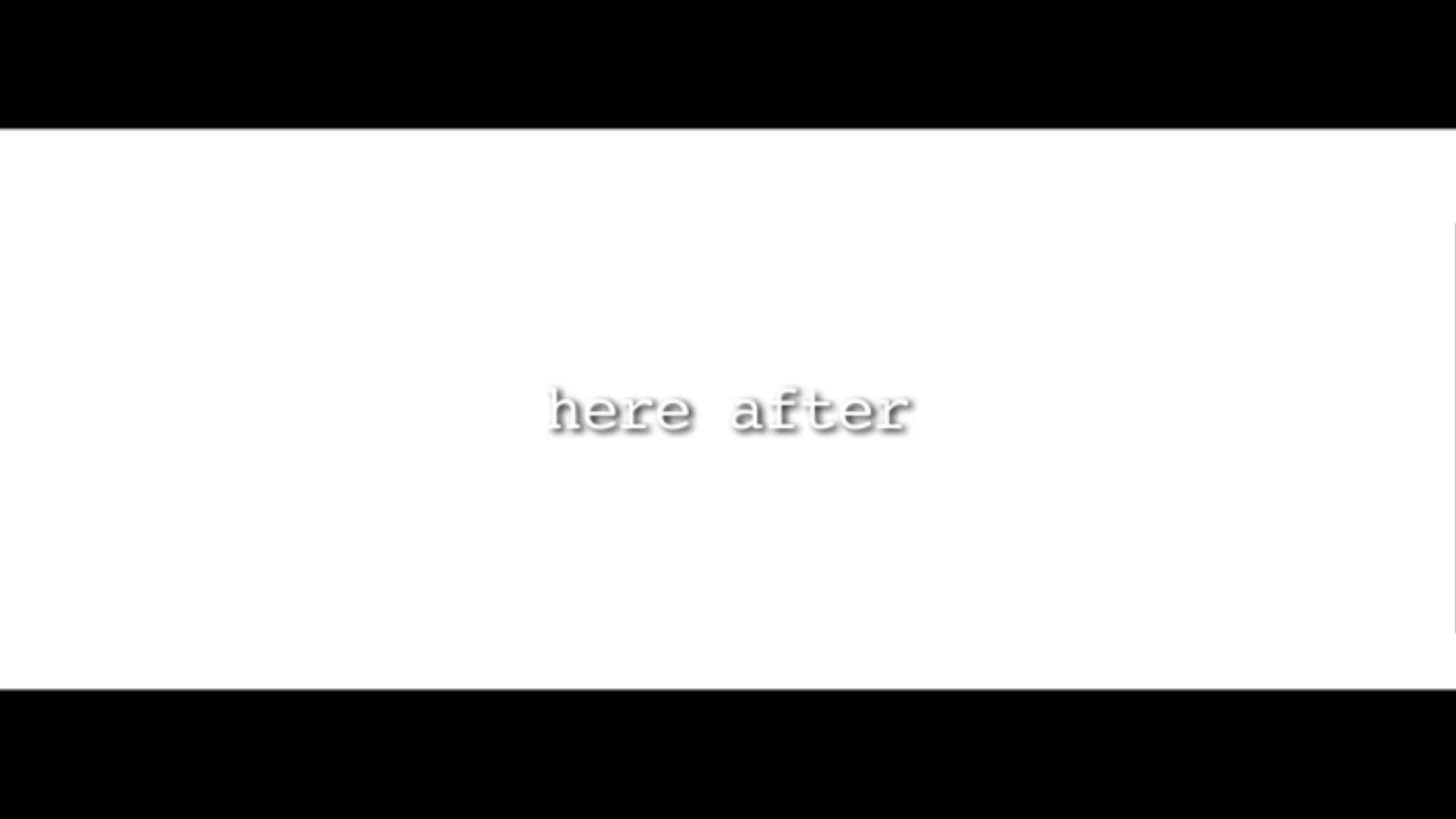 Title Card - Here After (2021)