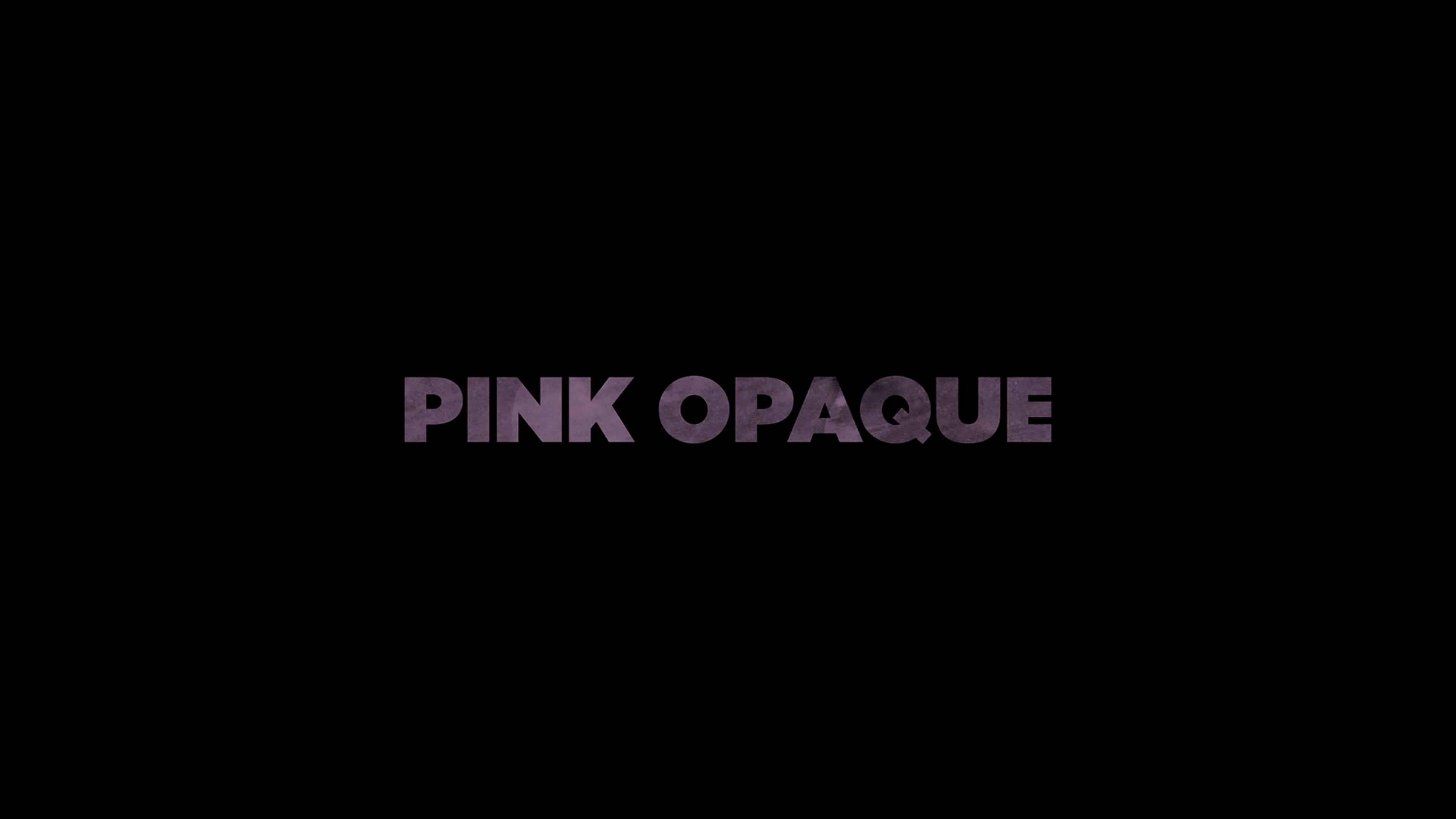 Title Card - Pink Opaque (2020)