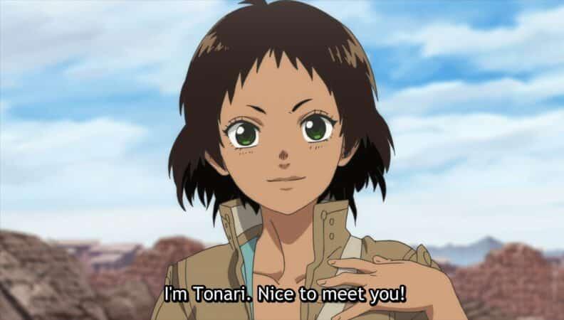 Tonari (Eri Inagawa) introducing herself