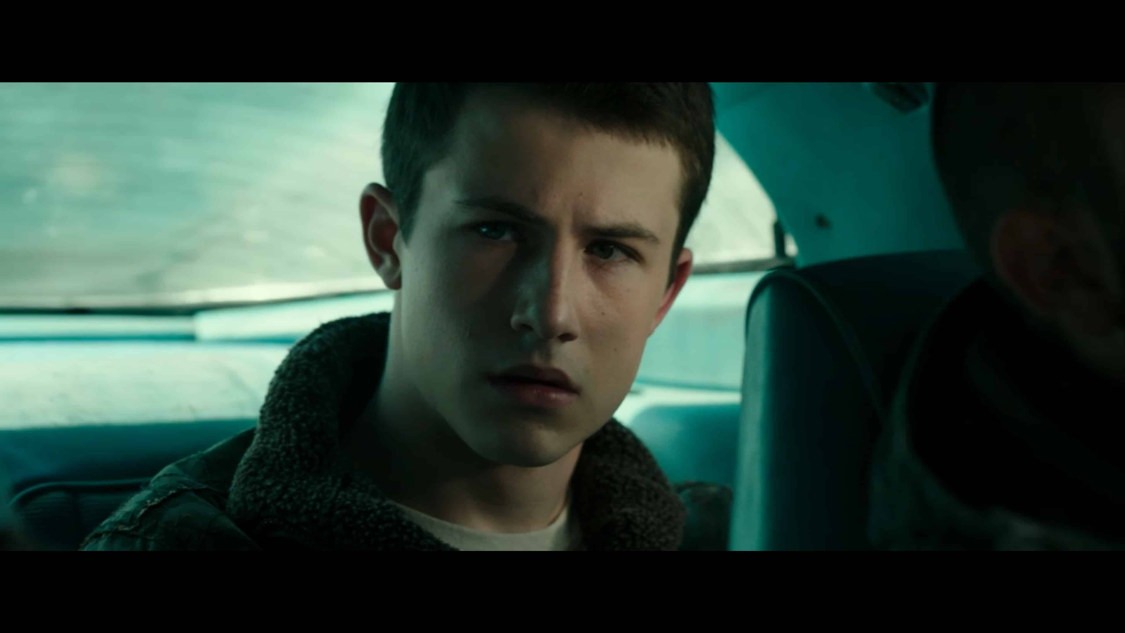 Alex (Dylan Minnette) trying to figure out Rocky