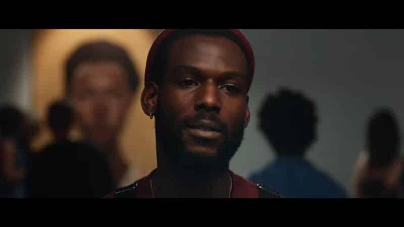 Isiah (Kofi Siriboe) looking at something beautiful