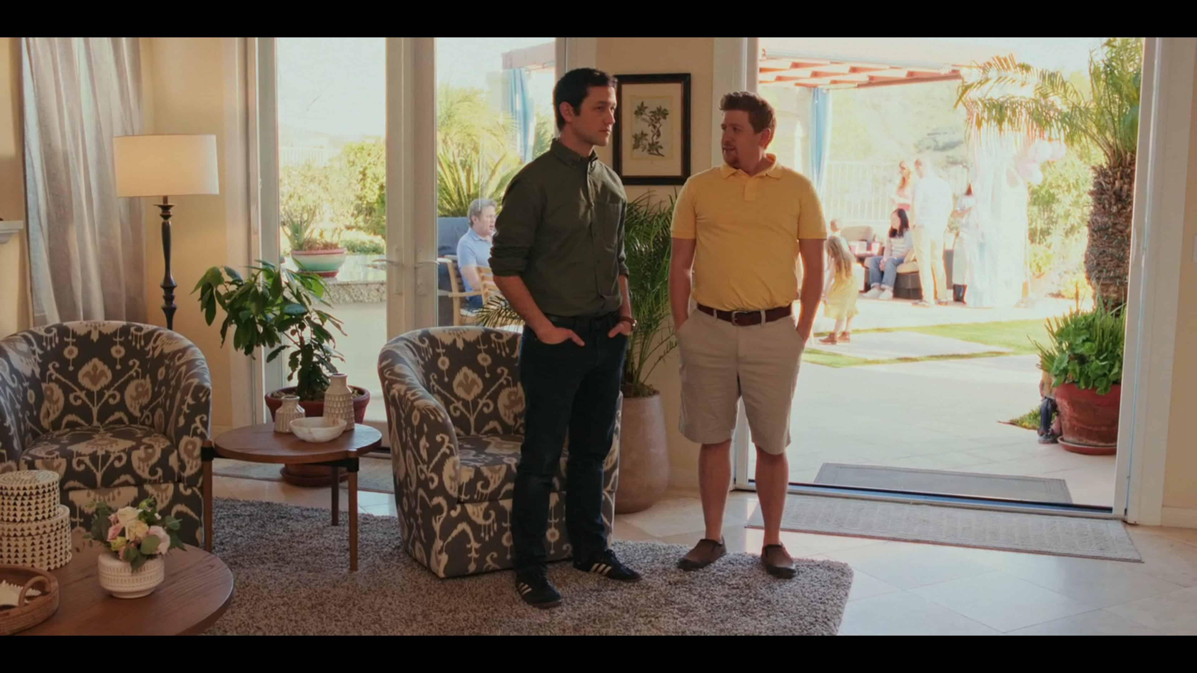 Josh and Aaron (Jonathan Runyon) talking about Aaron's new car