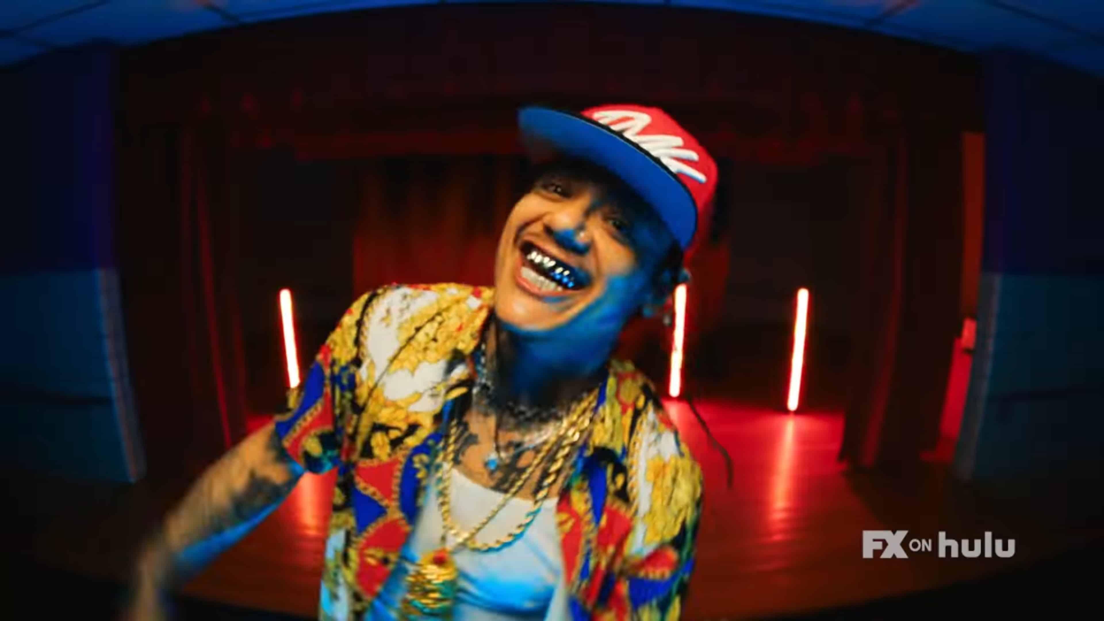 Punkin Lusty (Sten Joddi) in a rap video