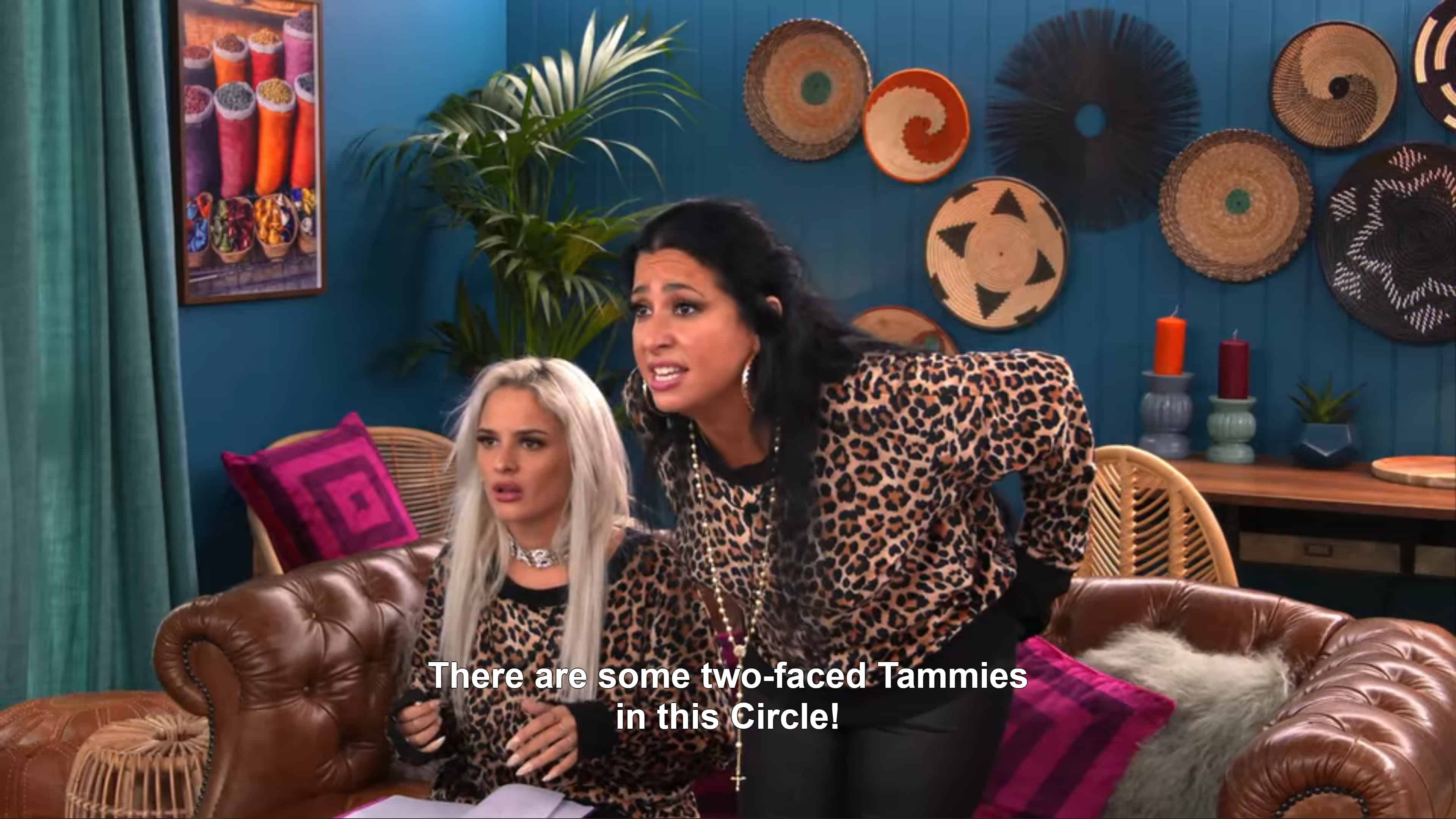 Ava and Chanel noting there are two faced people in The Circle!